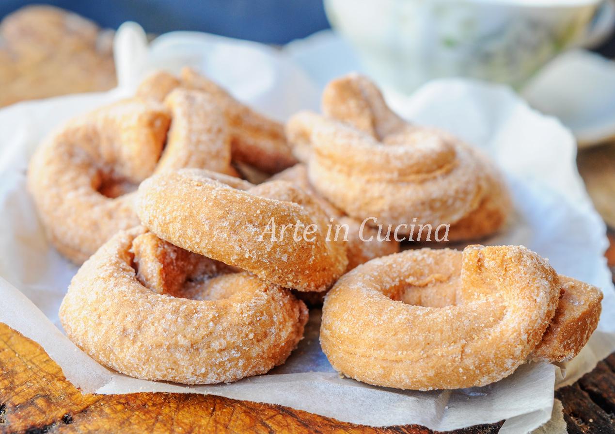 Taralli zenzero e limone biscotti veloci vickyart arte in cucina