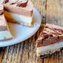 Torta fredda al doppio cioccolato dolce veloce vickyart arte in cucina