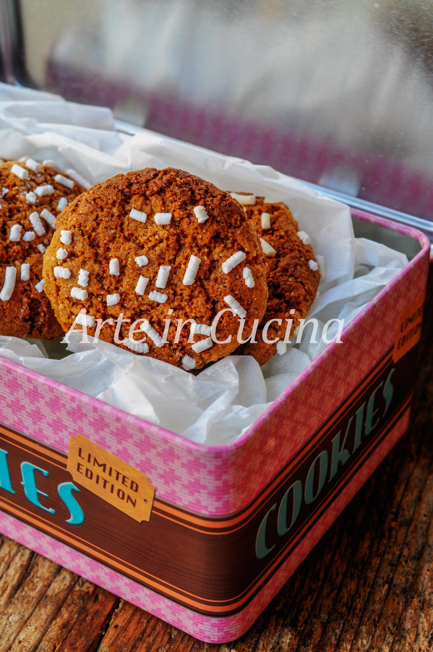 Biscotti cannella e zenzero con miele veloci