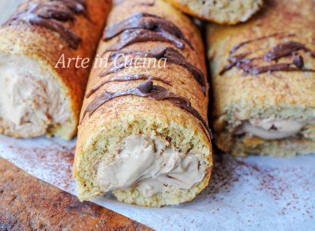 Cannoli di pasta biscotto al caffè ricetta veloce
