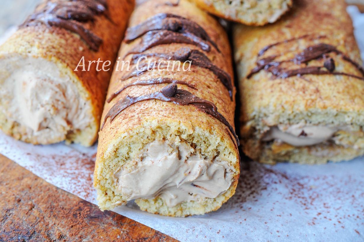 Cannoli di pasta biscotto al caffè ricetta veloce vickyart arte in cucina