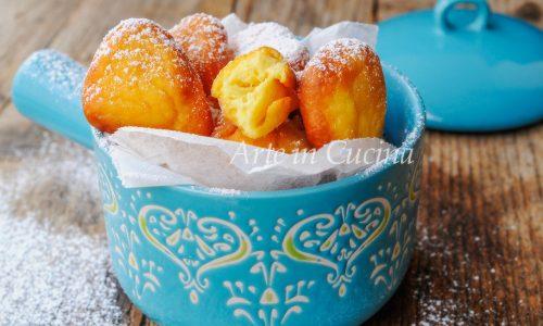 Frittelle alla ricotta e limone dolce veloce