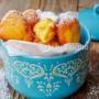 Frittelle alla ricotta e limone dolce veloce vickyart arte in cucina