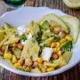 Insalata di avocado ceci e feta greca ricetta veloce vickyart arte in cucina