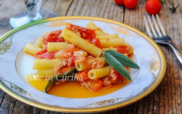 Pasta tonno e mollica ricetta facile e veloce