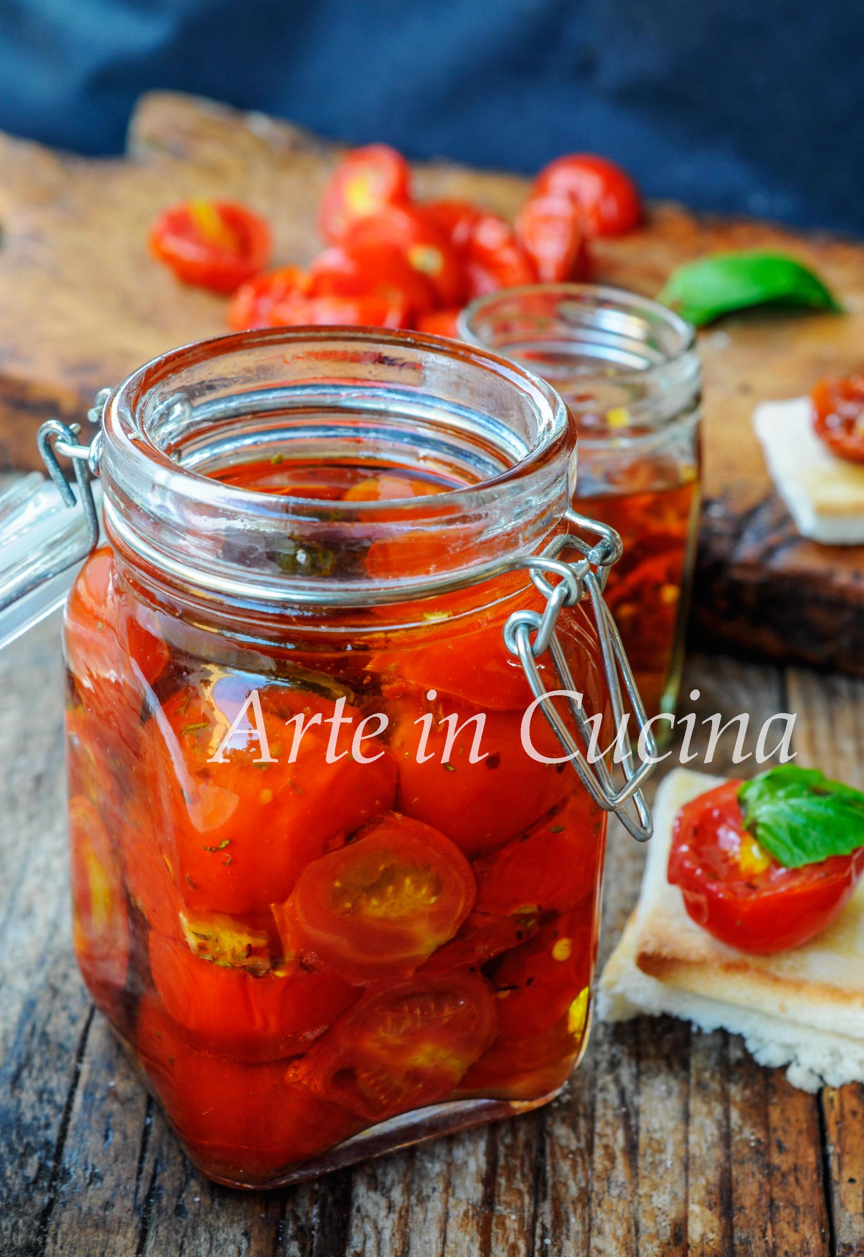 Pomodori secchi sott'olio ricetta veloce vickyart arte in cucina