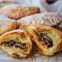 Ravioli di sfoglia veloce alla nutella ricetta golosa vickyart arte in cucina