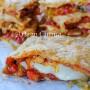 Sfogliata ai peperoni con prosciutto e provola vickyart arte in cucina