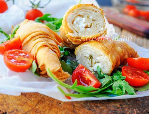 Borek al formaggio involtini fritti ricetta turca