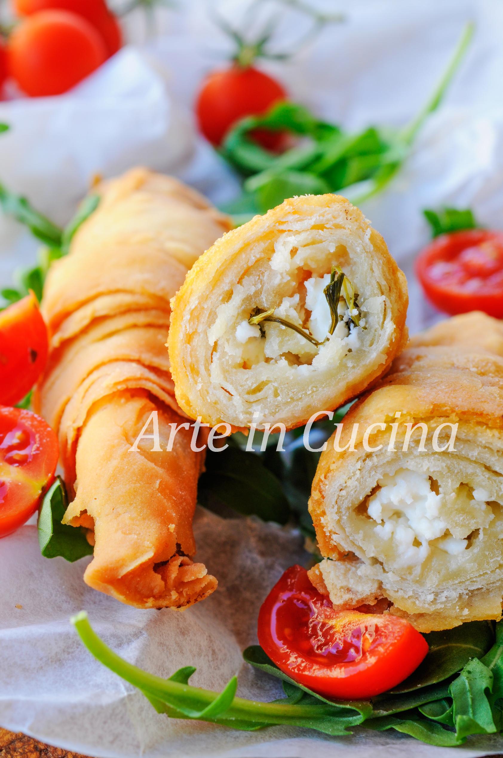Borek al formaggio involtini fritti ricetta turca vickyart arte in cucina