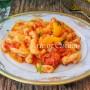 Cavatelli ai peperoni ricetta facile e veloce vickyart arte in cucina