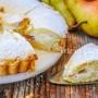 Crostata ripiena ricotta e pera morbidissima vickyart arte in cucina