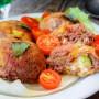 Cupolette di carne e zucchine al forno ricetta veloce vickyart arte in cucina