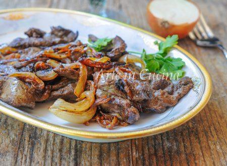 Fegato alla veneziana ricetta tipica facile