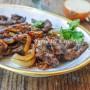 Fegato alla veneziana ricetta facile vickyart arte in cucina