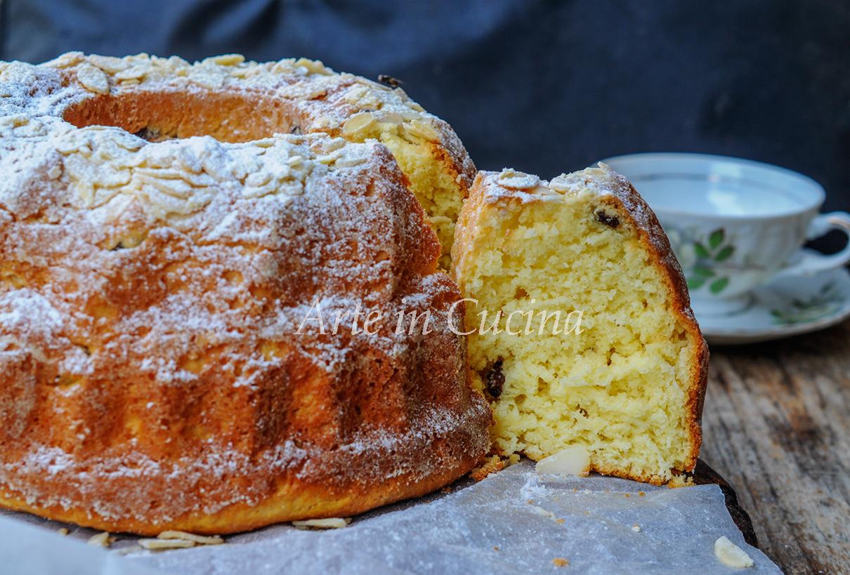 Gugelhupf dolce tedesco lievitato soffice e facile vickyart arte in cucina