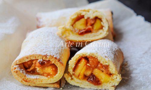 Mini strudel alle mele e cannella ricetta veloce