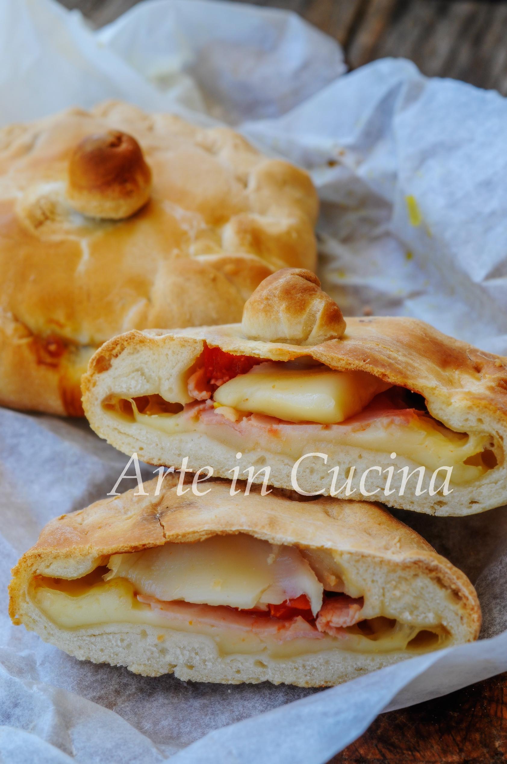 Panadine ai peperoni e formaggio ricetta sfiziosa vickyart arte in cucina