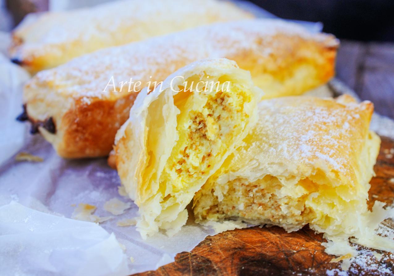 Panzarotti ungheresi di ricotta dolci veloci vickyart arte in cucina