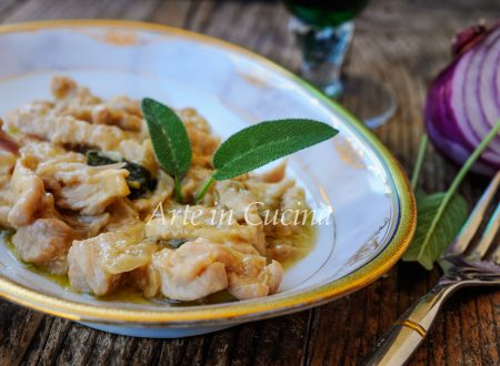 Pollo con cipolle e vino bianco ricetta facile
