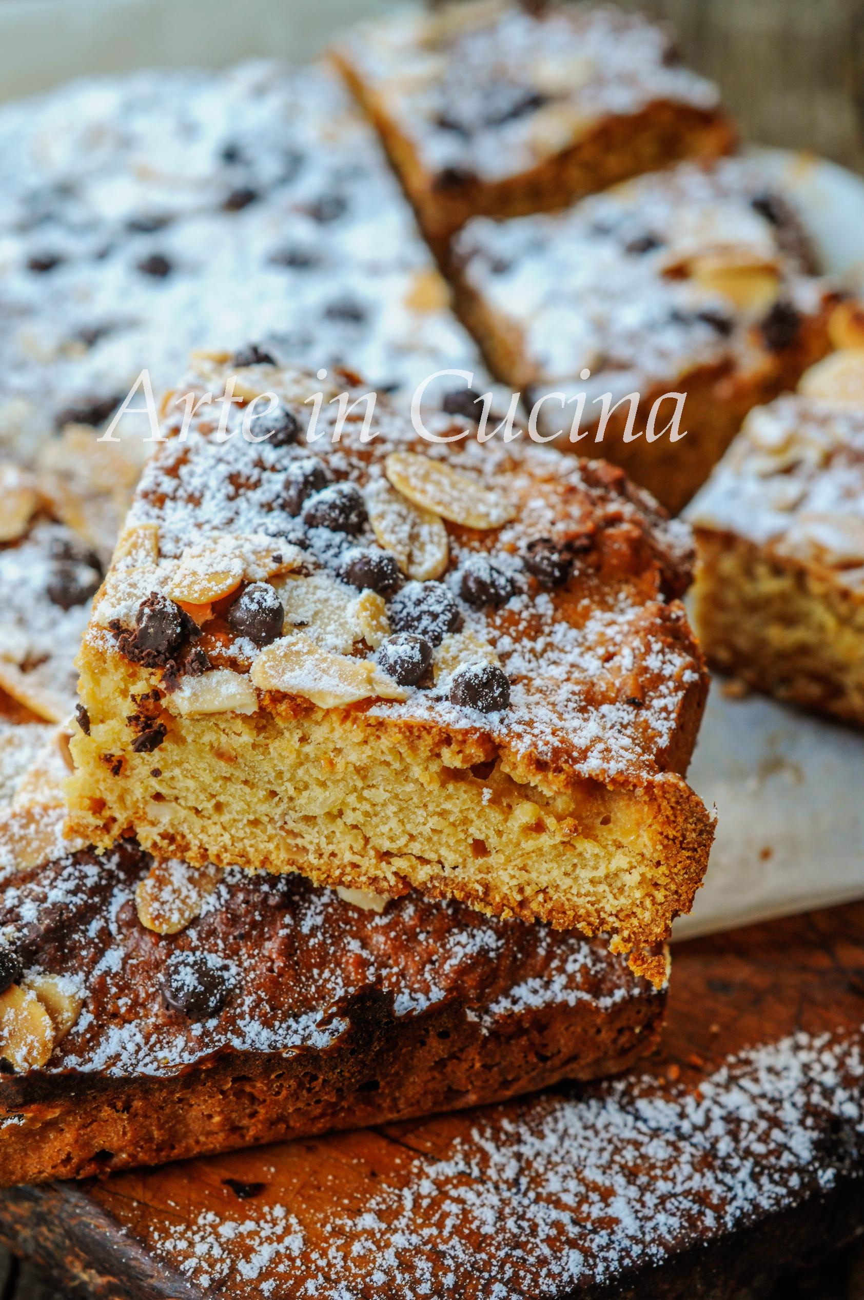 Quadrotti di pan nocciolato al miele biscotti vickyart arte in cucina