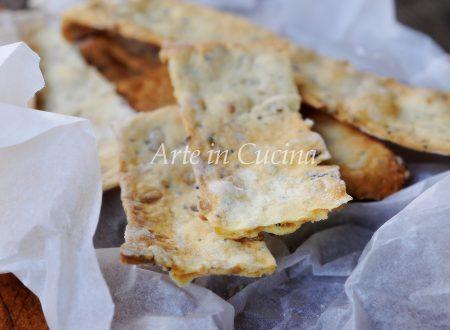 Sfogliatine di pane ai semi facili e veloci