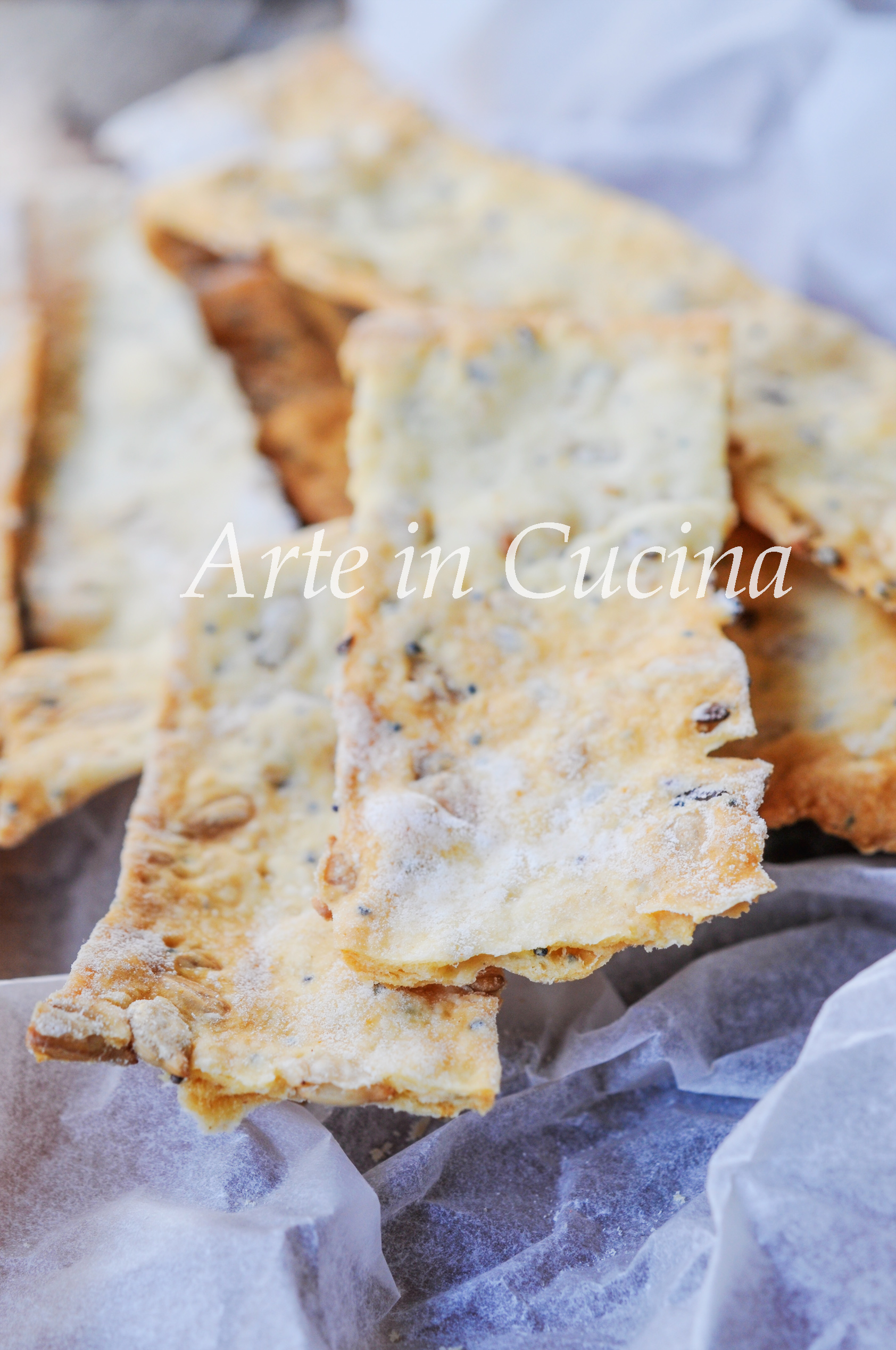 Sfogliatine di pane ai semi facili e veloci vickyart arte in cucina