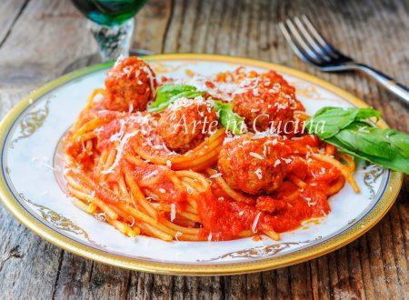 Spaghetti with meatballs con polpette Lilly e il vagabondo