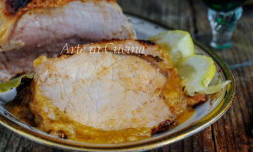 Arista di maiale al limone ricetta facile e gustosa