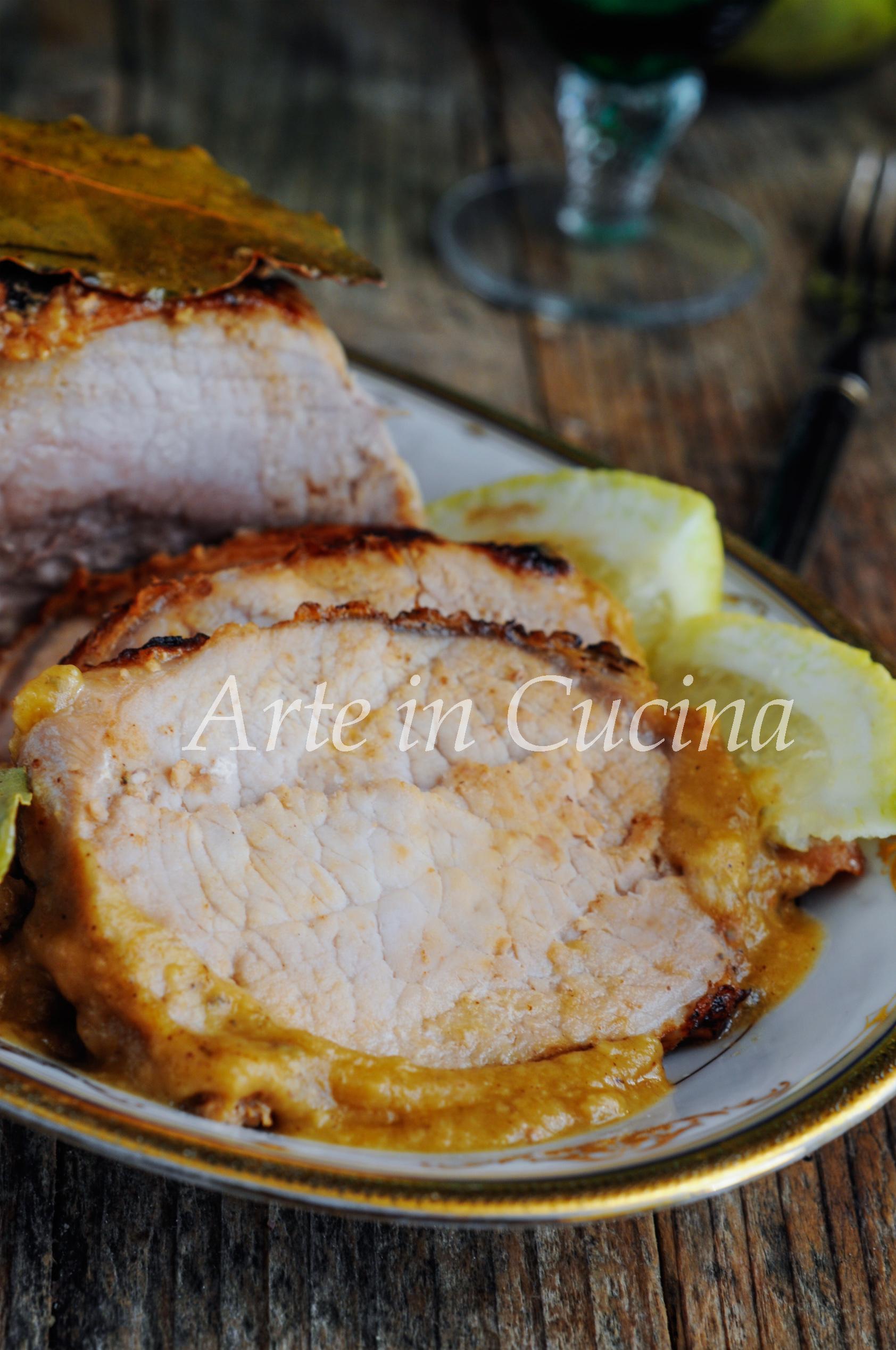 Arista di maiale al limone ricetta facile e gustosa vickyart arte in cucina