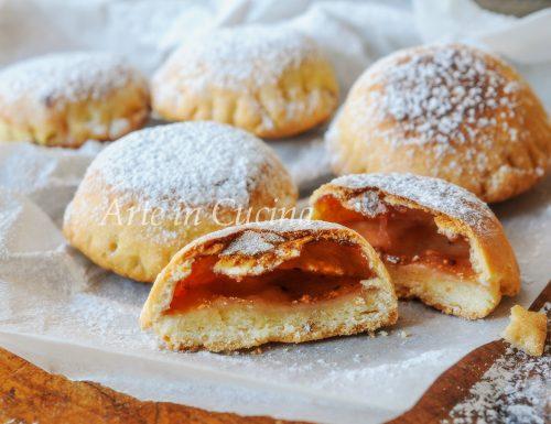 Biscotti con marmellata in padella ricetta veloce