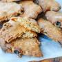 Biscotti novembrini senza burro e olio veloci vickyart arte in cucina