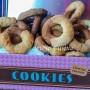 Biscotti panna e cioccolato abbracciati vickyart arte in cucina