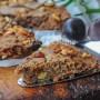 Castagnaccio dolce toscano alle castagne facile e veloce vickyart arte in cucina