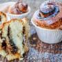 Cruffin alla nutella o muffin sfogliati ricetta colazione vickyart arte in cucina