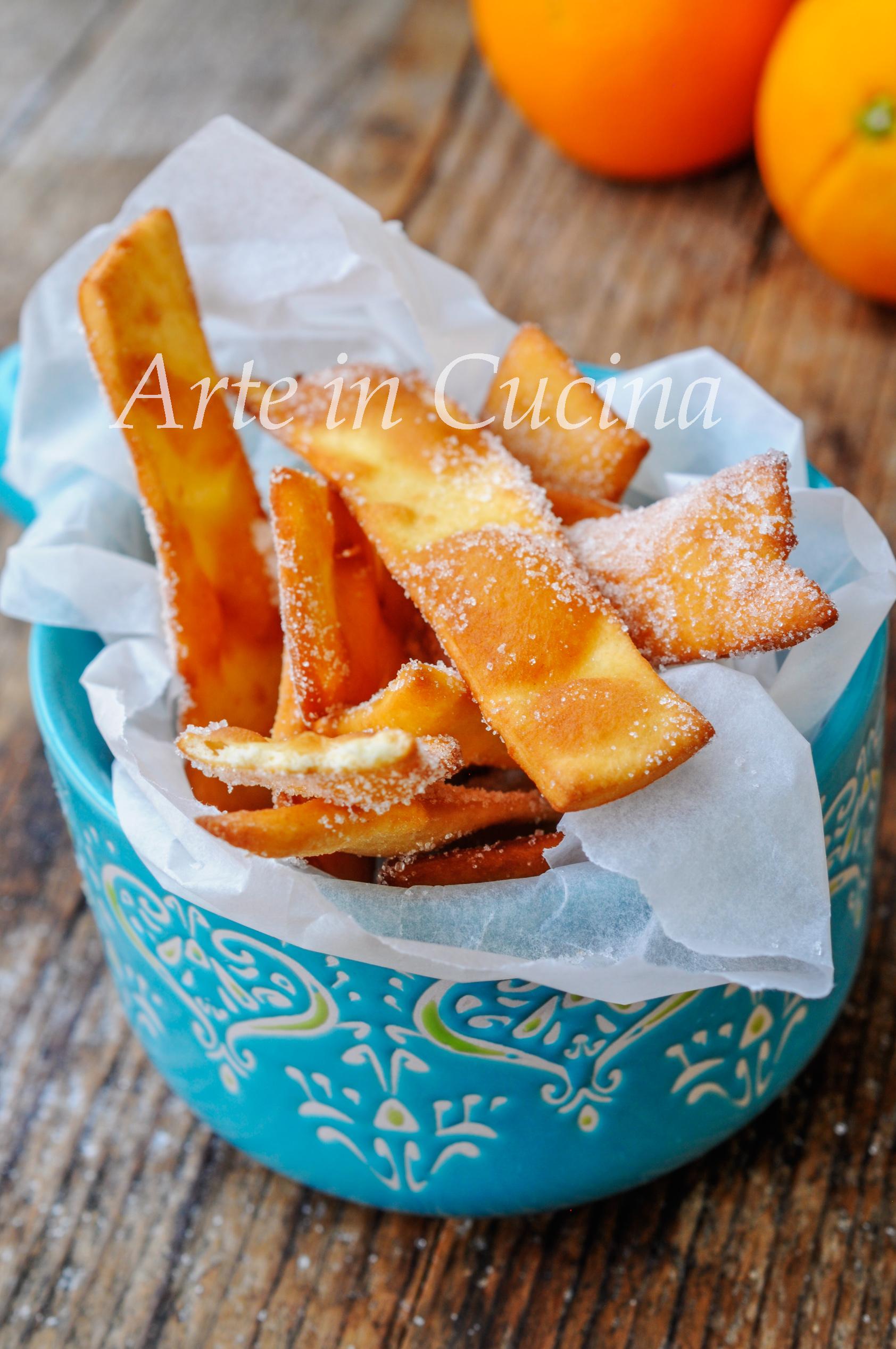 Frittelline all'arancia zuccherate senza uova velocissime vickyart arte in cucina