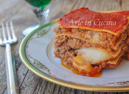 Lasagne con carne e provola ricetta semplice e veloce