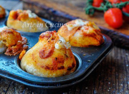 Muffin alla pizza ricetta sfiziosa e facile