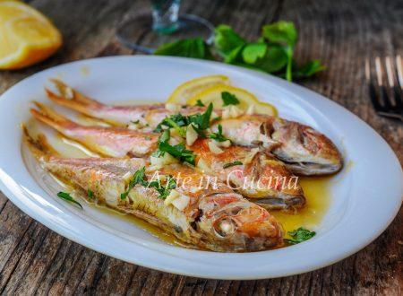 Triglie al limone in padella ricetta facile e veloce