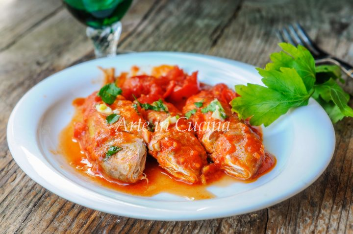 Triglie alla livornese ricetta toscana con pesce facile vickyart arte in cucina
