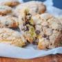 Biscotti morbidi veloci con gocce di cioccolato vickyart arte in cucina