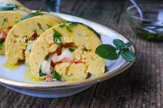 Girelle di ceci al salmone antipasto veloce vickyart arte in cucina