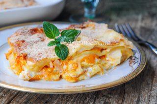 Lasagne al salmone robiola e zucca ricetta veloce vickyart arte in cucina