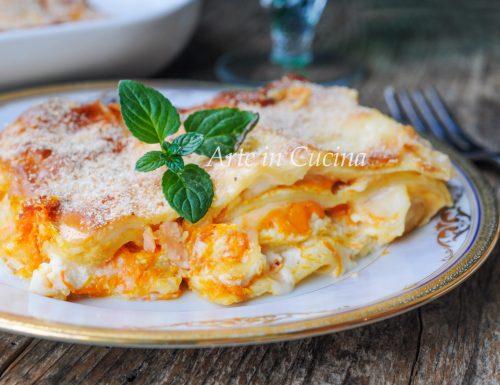Lasagne al salmone robiola e zucca ricetta veloce