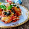 Rotolini di lasagna con carne e spinaci ricetta facile vickyart arte in cucina