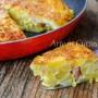 Torta di patate e mortadella in padella vickyart arte in cucina