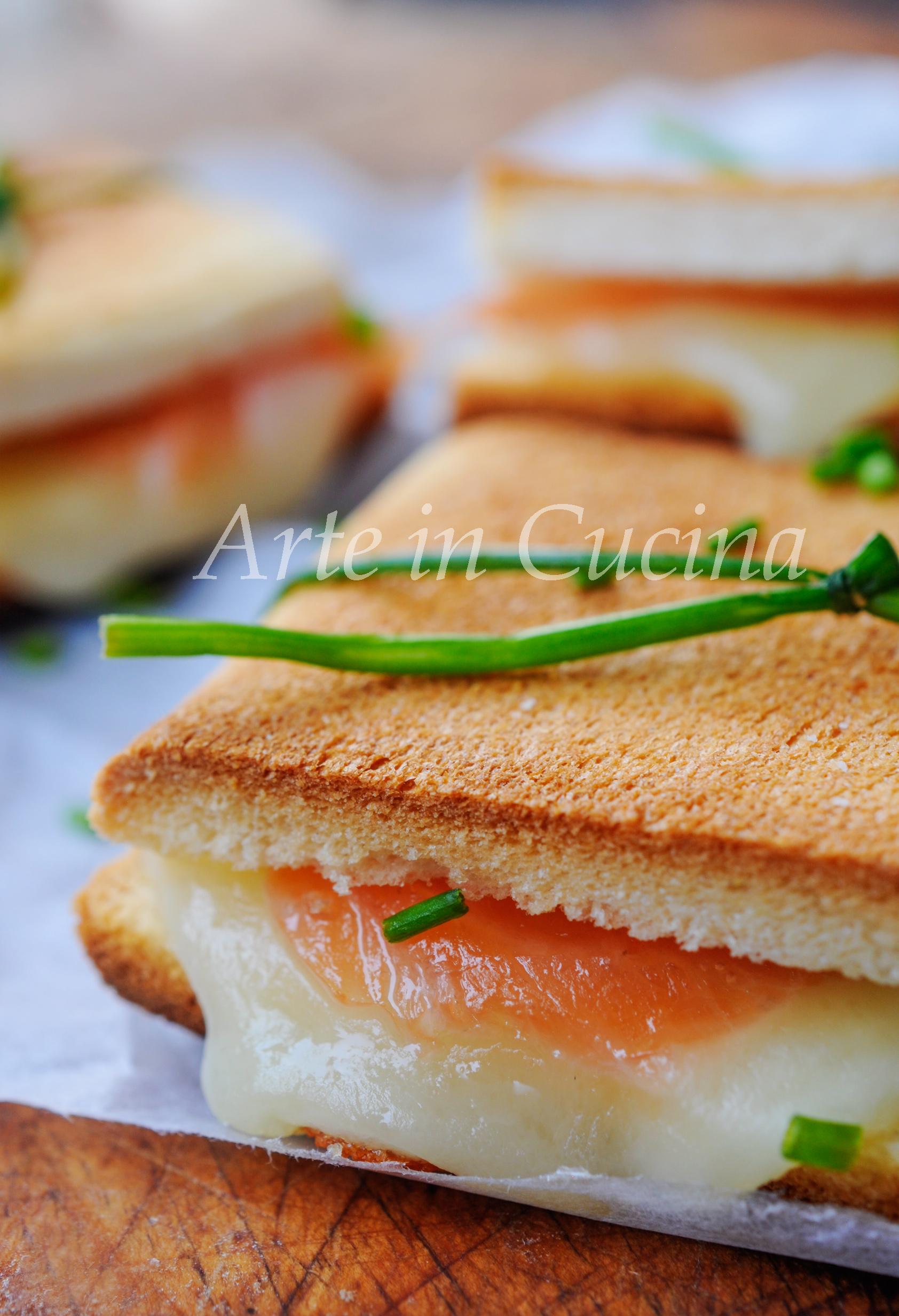 Tramezzini al salmone antipasto veloce vickyart arte in cucina