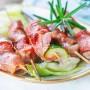 Arrosticini di tacchino speck e zucchine vickyart arte in cucina