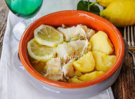 Baccalà limone e patate di nonna Elena
