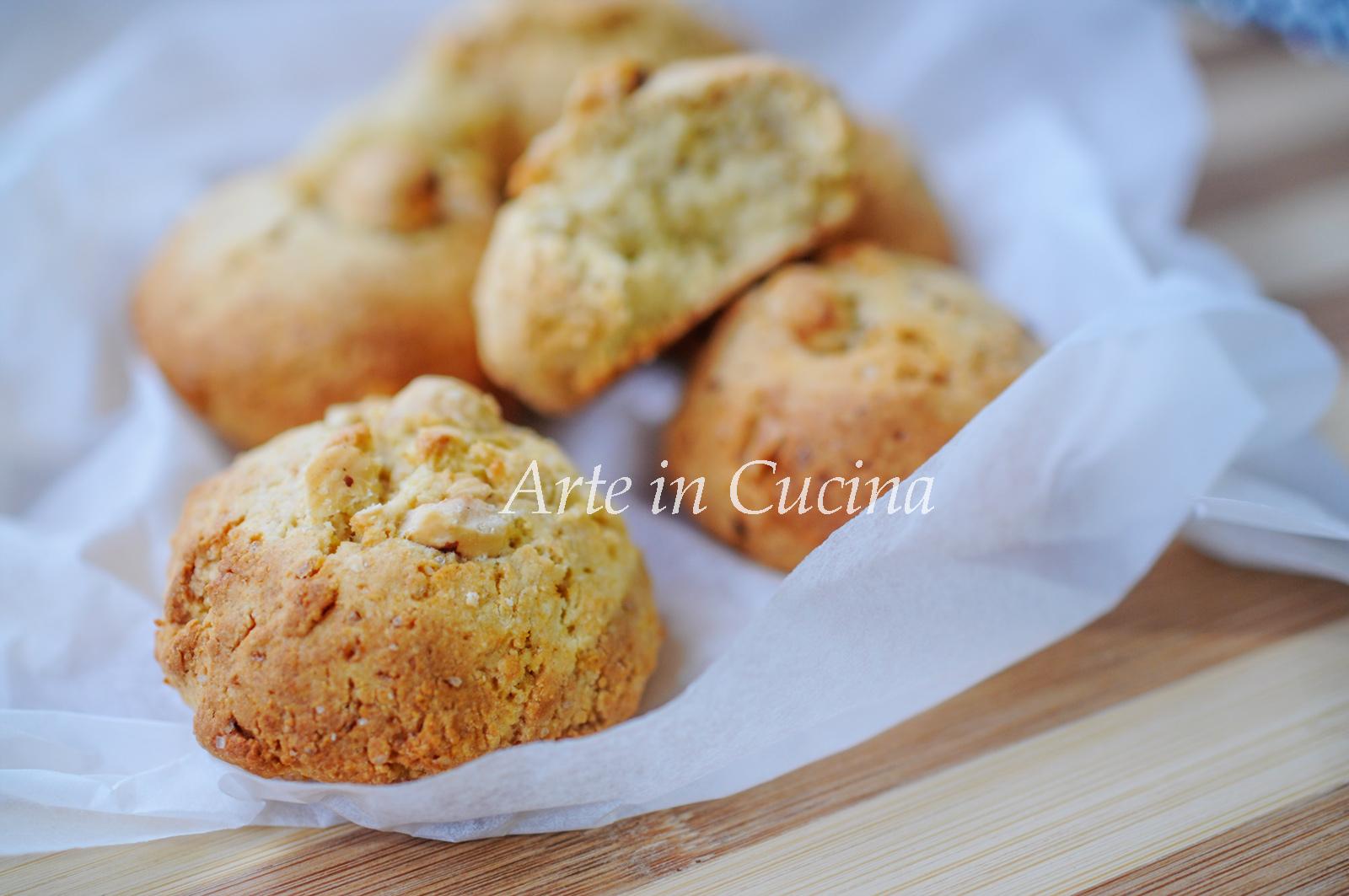 Biscotti di pandoro e nocciole veloci vickyart arte in cucina